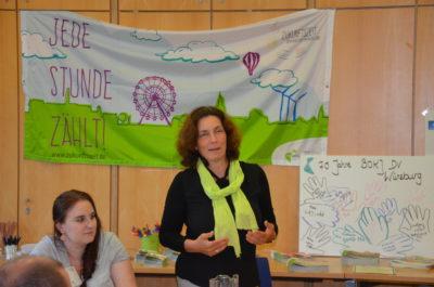 Kerstin Celina bei der BDKJ Diözesanversammlung.
