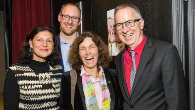 v.l.n.r.: Barbara Lehrieder, Alexander Kolbow, Kerstin Celina, Thomas Schmitt.
