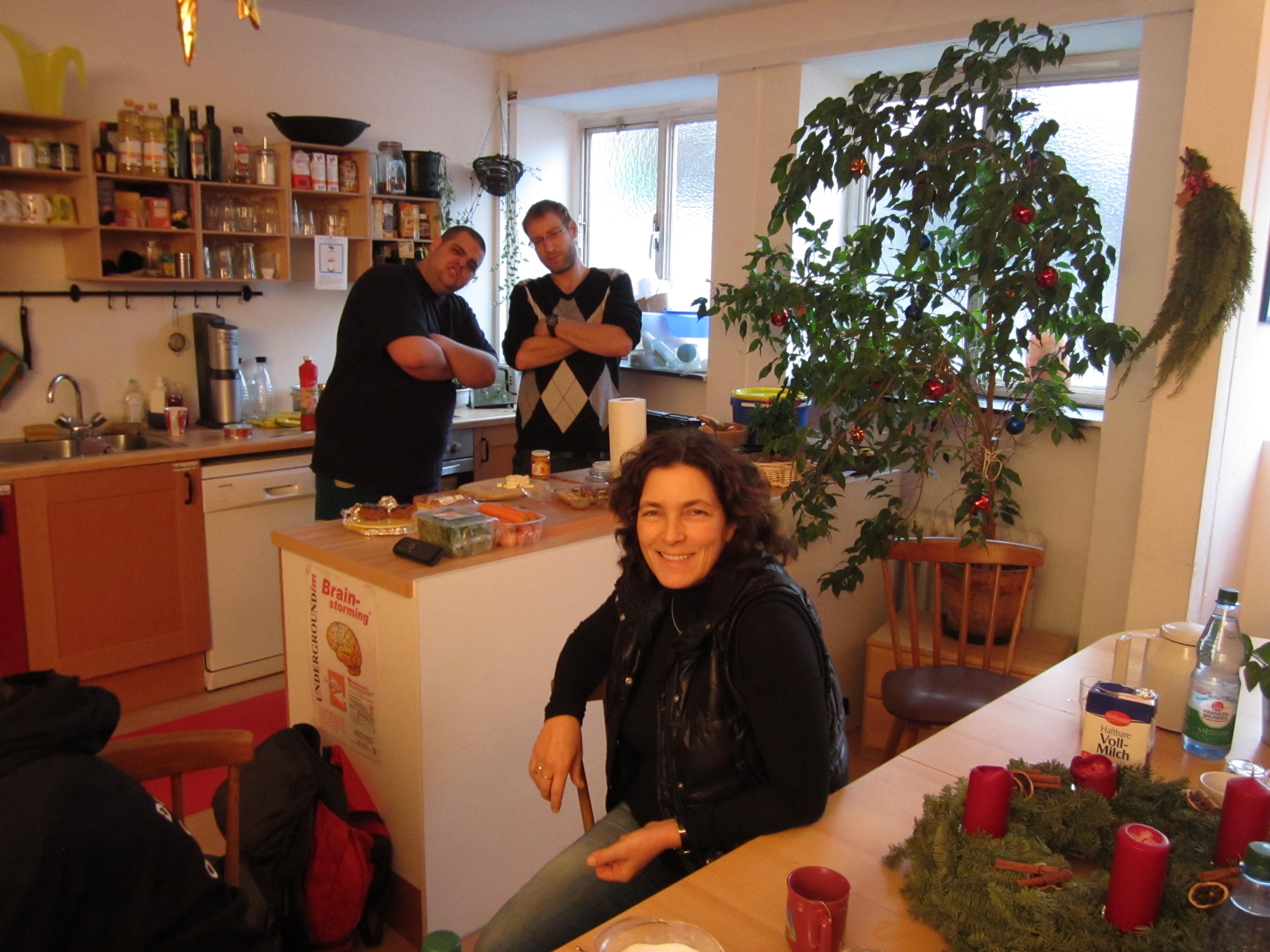 Kerstin Celina bei ihrem Besuch im