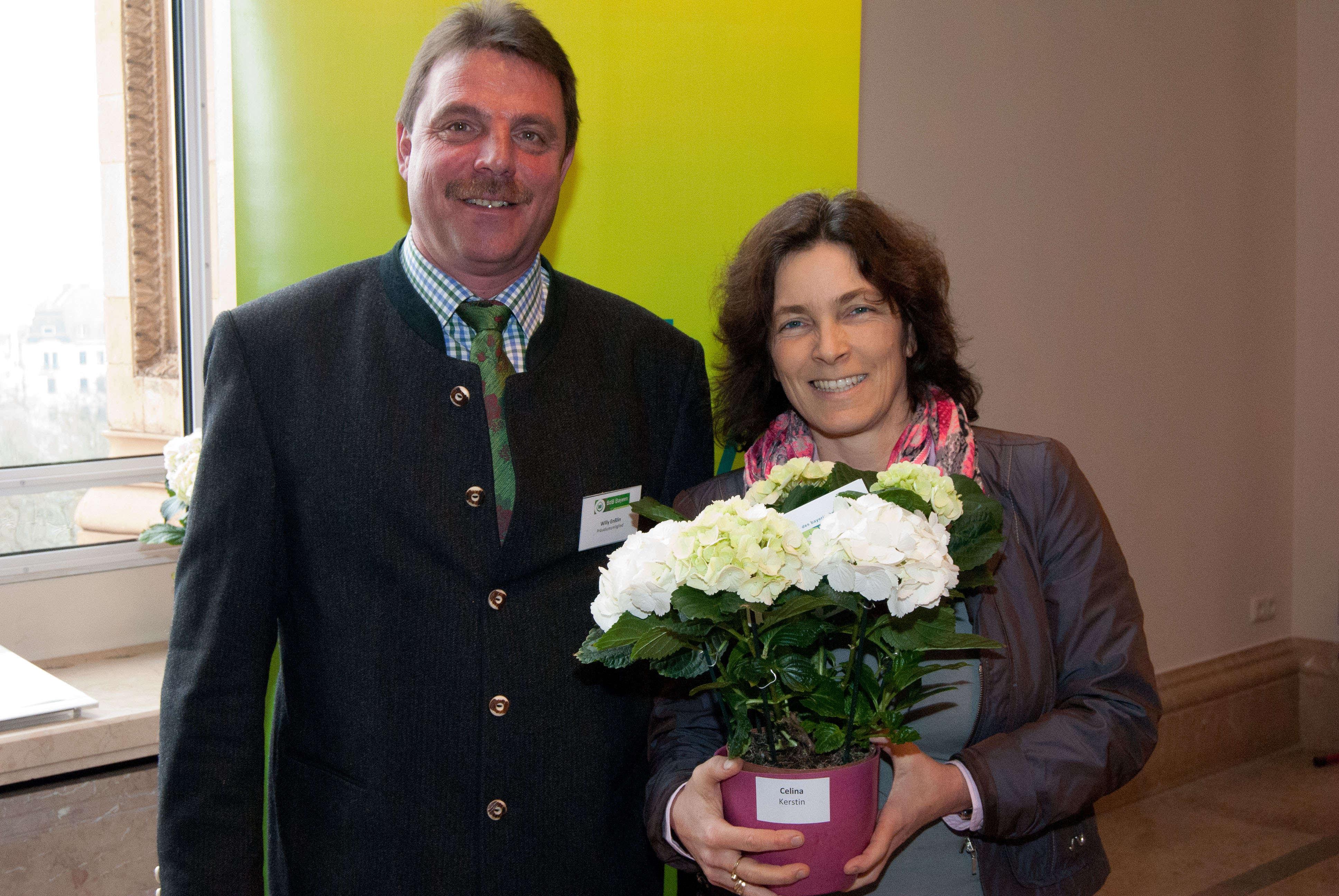 Mit dem Stellvertretenden Vorsitzenden des BdB Landesverband Bayern e.V. Willy Enßlin
