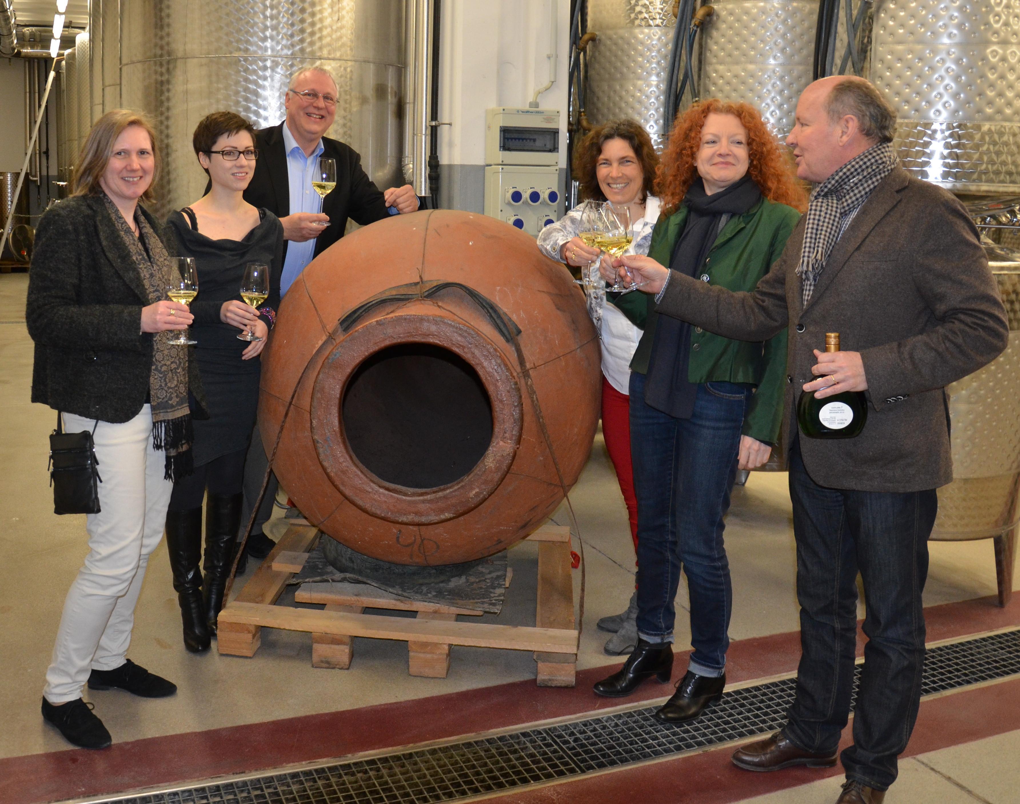 Erneut zu Besuch in der Landesanstalt für Wein- und Gartenbau, Veitshöchheim.