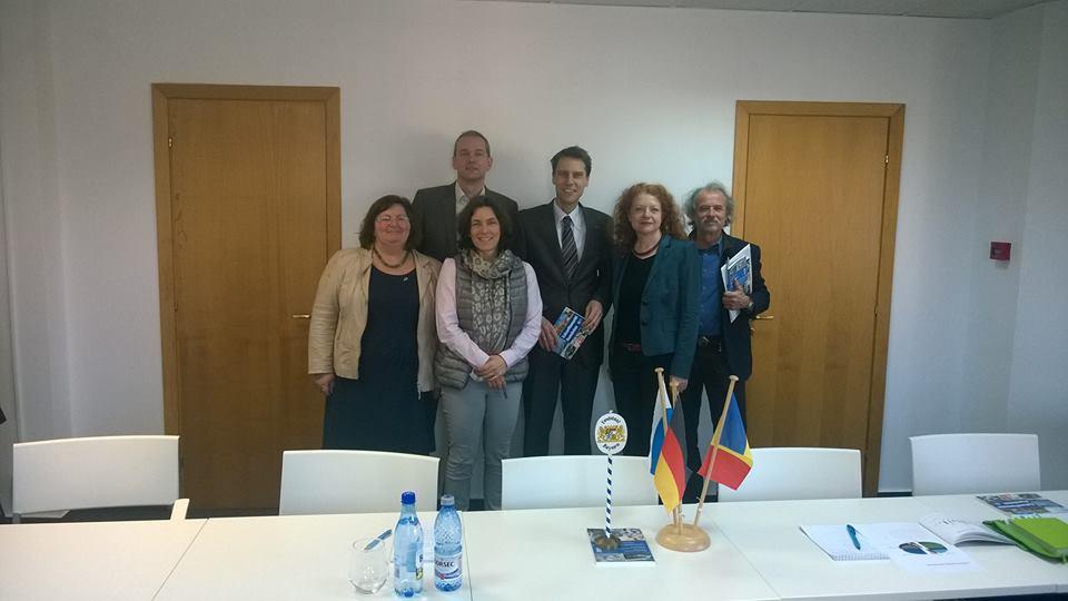 Termin bei der Industrie-und Handelskammer, mit Christine Kamm, Thomas Mütze, Margarete Bause und Uli Leiner.