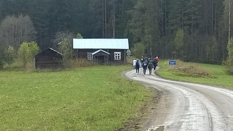 Jugendhilfeprojekt in dem Dorf Virtasalmi, Finnland.