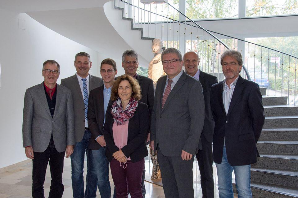 Gruppenfoto vom Besuch in Schwarzenbruck.