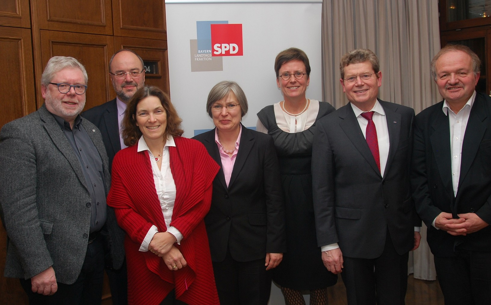 v.l.n.r.: Godehard Ruppert, Kerstin Celina, Sabine Happ, Isabell Zacharias, Georg Rosenthal, Michael Hollmann.