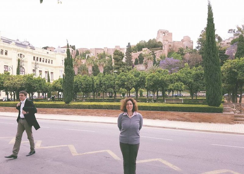 Kerstin Celina in Malaga.