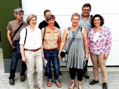 V.l.: Volkhardt Warmdt, Barbara Pfeuffer, Heiner Schmidt, Bärbel Imhof,  Andrea Drexelius, Gerhard Müller und Kerstin Celina