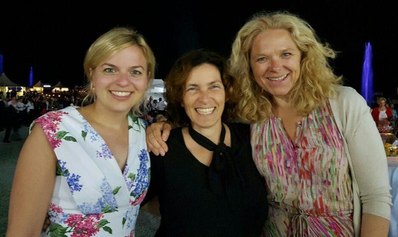Kerstin Celina mit Katharina Schulze und  Doris Wagner
