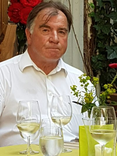Klemens Rumpel vom Verband der fränkischen Ökowinzer