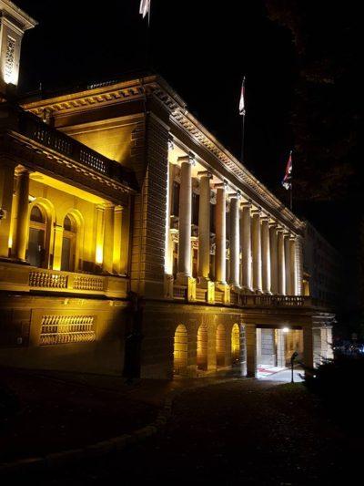 Präsidentenpalast in Belgrad.
