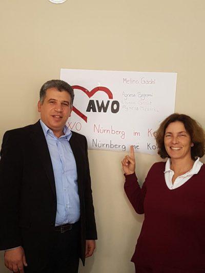 Besuch bei AWO Nürnberg im Kosovo.