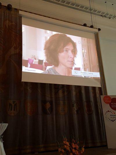 Als Mitglied der Jury wurde auch Kerstin Celina befragt