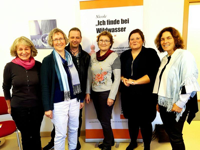 Rita Heeg, Britta Huber, Heiner Schmidt, Christa Büttner, Antje Sinn und Kerstin Celina.