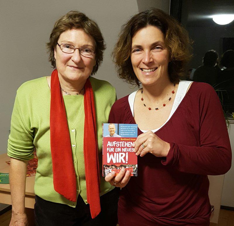 Kreisrätin Christa Büttner und MdL Kerstin Celina