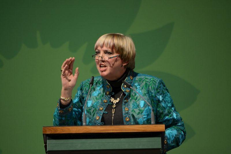 Spitzenkandidatin Claudia Roth.