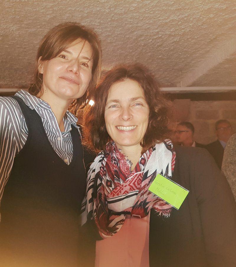 Kerstin Celina mit Manuela Rottmann.