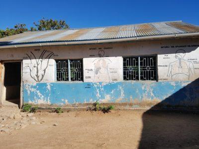 Schulgebäude in Ijinga.