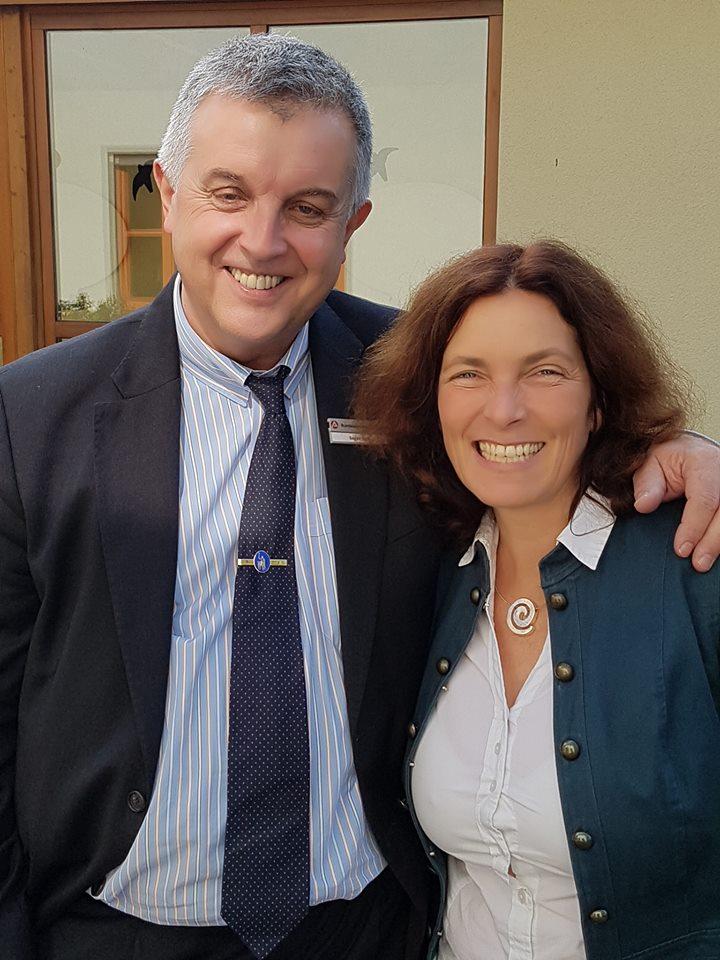 Eugen Hain und Kerstin Celina.