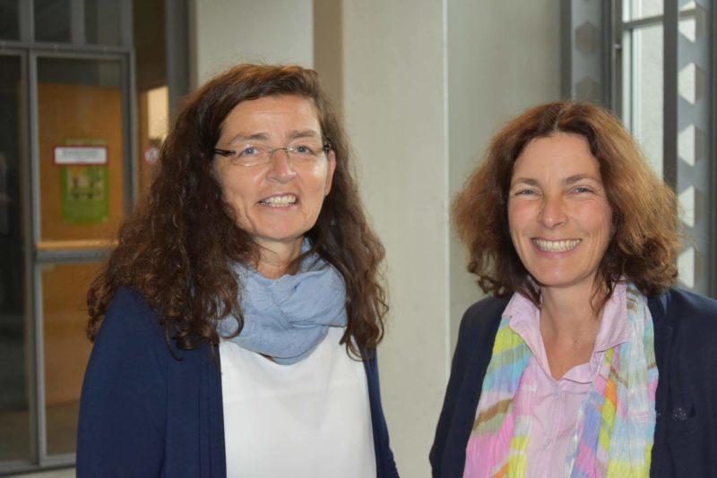MdL Kerstin Celina mit Christine Haupt-Kreuzer, stellvertretende Landrätin.