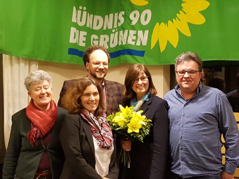 v.l.n.r.: Christa Grötsch, Kerstin Celina, Patrick Friedl, Karen Heußner, Gerhard Müller.