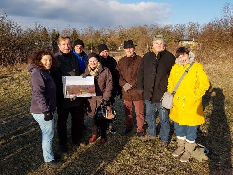 Gruppenfoto der Teilnehmer_innen des Termins in Volkach.
