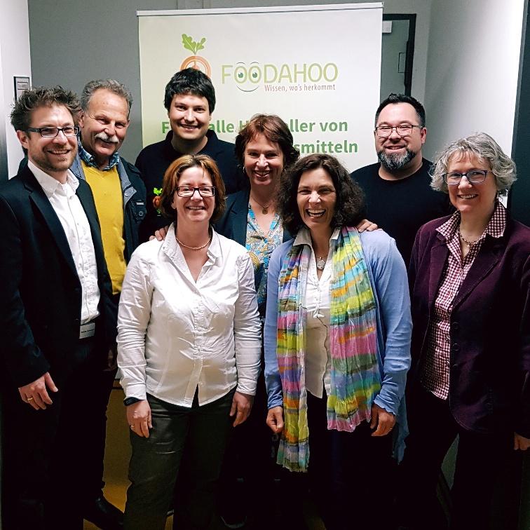 Grüne Delegation zu Besuch bei den Gründer_innen von Foodahoo.