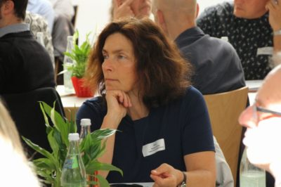Kerstin Celina beim jugendpolitischen Fachtag der EJSA. Foto: Barbara Klamt.