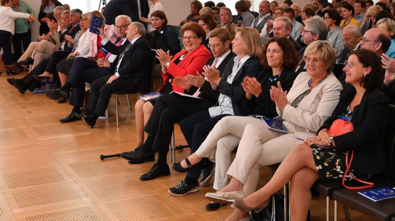 Jury des diesjährigen Bürgerpreis. Foto: Bildarchiv Bayerischer Landtag.