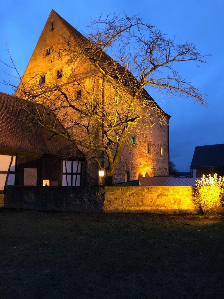 Schloss Grumbach in Burggrumbach.