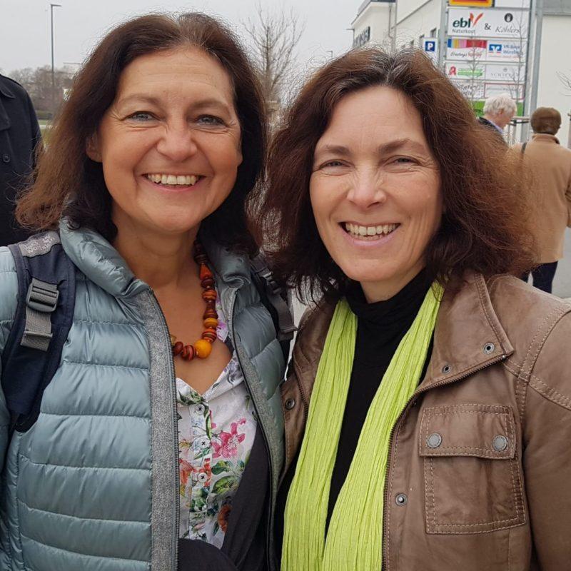 Stadträtin Barbara Lehrieder und MdL Kerstin Celina.