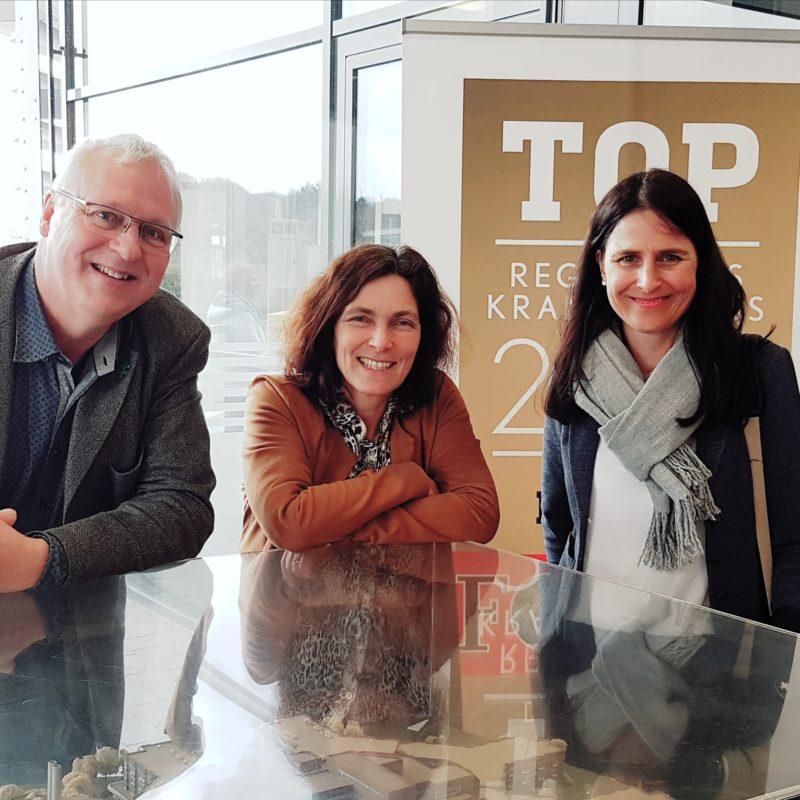 Gerhard Kraft, Kerstin Celina, Christina Haubrich. Foto: Claudia Eberl.