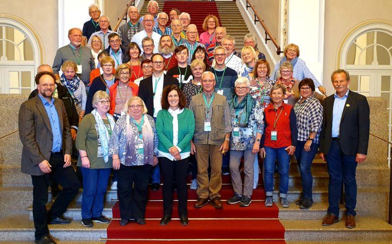 Besuchsgruppe aus Aschaffenburg und Main-Spessart.