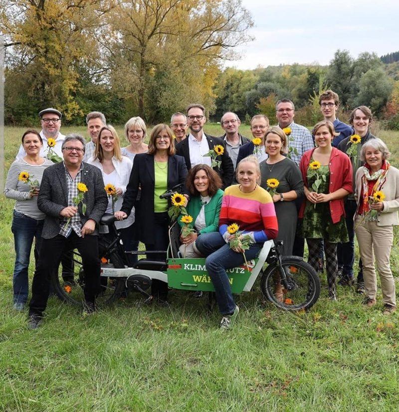Die ersten 20 Plätze der Grünen Kreistagsliste.