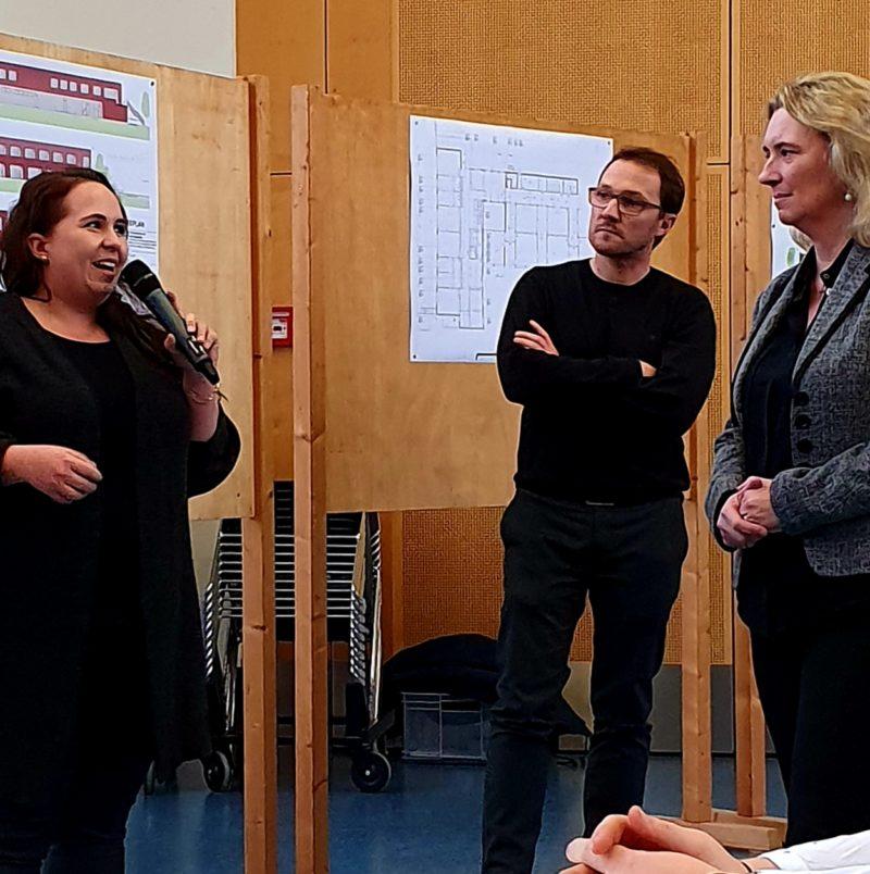 Besuch der bay. Sozialministerin in Kürnach.