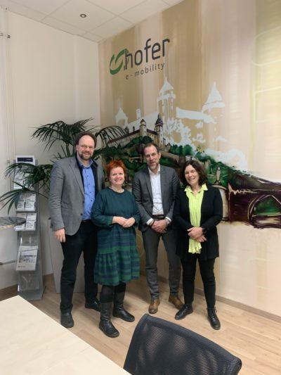 v.l.: Patrick Friedl, Barbara Fuchs, Volker Hartmann, Kerstin Celina.