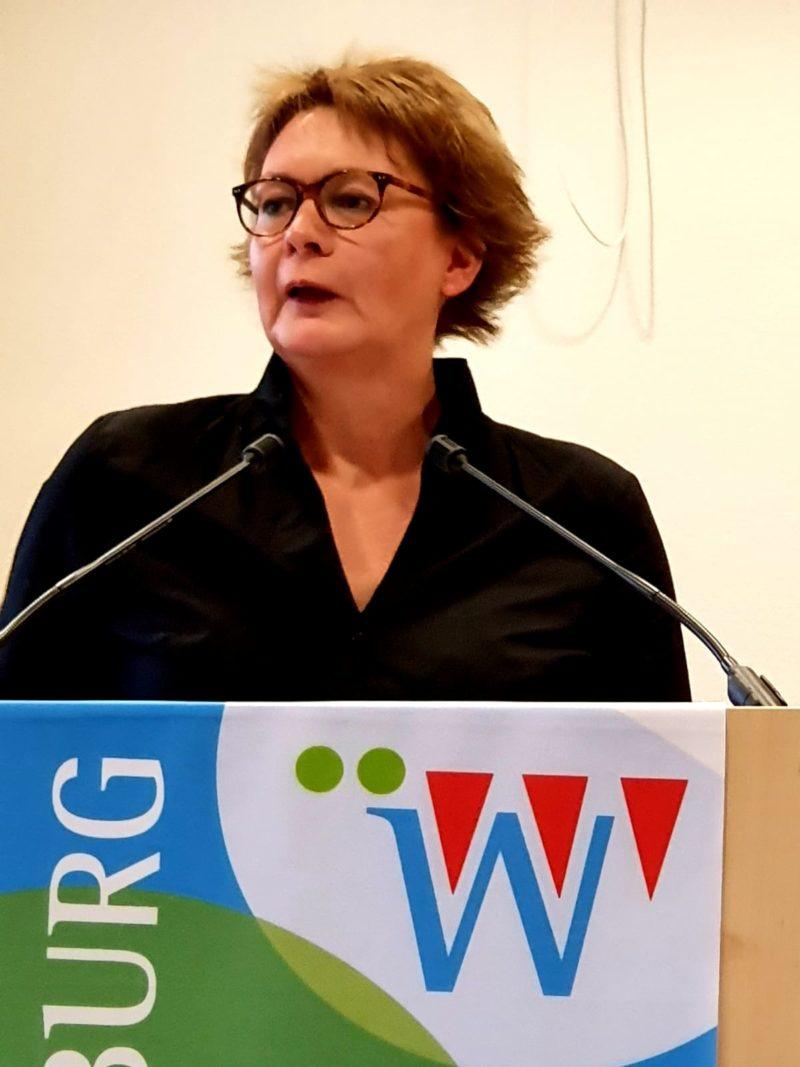 """Daniela Behrens bei der Veranstaltung """"Frauen in die Politik"""""""